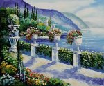 View of the Sea - Oil Painting Reproduction On Canvas