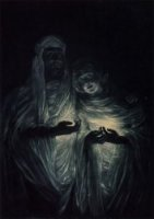 The Apparition - James Tissot oil painting
