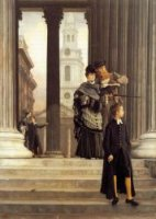 London Visitors - James Tissot oil painting