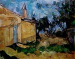 Jourdan's Cottage II - Paul Cezanne Oil Painting