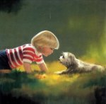 Making Friends - Donald Zolan Oil Painting