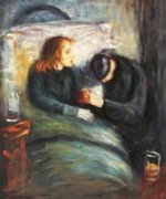 The Sick Child -Edvard Munch Oil Painting