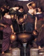 The Danaides - Oil Painting Reproduction On Canvas