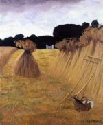 Les Javelles - Felix Vallotton Oil Painting
