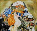 Baby (Cradle) - Oil Painting Reproduction On Canvas