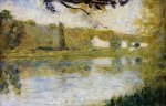 The Riverside - Oil Painting Reproduction On Canvas