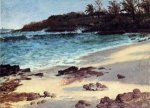 Bahama Cove - Albert Bierstadt Oil Painting