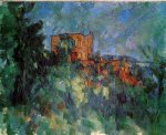 Chateau Noir IV - Paul Cezanne Oil Painting