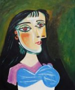 Portrait of a Women - Pablo Picasso Oil Painting