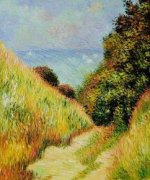 Chemin De La Cavee Pourville - Claude Monet Oil Painting
