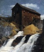 The Mill - Robert Vonnoh Oil Painting