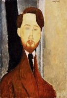 Portrait of Leopold Zborowski III - Amedeo Modigliani Oil Painting