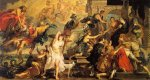Apotheosis of Henry IV and the Proclamation of the Regency of Marie de Medici - Peter Paul Rubens Oil Painting