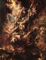 Fall of the Rebel Angels - Peter Paul Rubens Oil Painting
