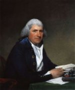 Richard Yates - Gilbert Stuart Oil Painting
