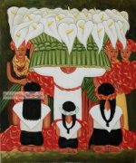 Flower Festival Feast of Santa Anita by Diego Rivera.