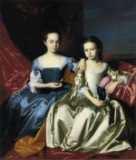 Mary and Elizabeth Royall - Oil Painting Reproduction On Canvas