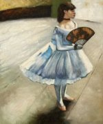 The Dancing Girl - Edgar Degas Oil Painting
