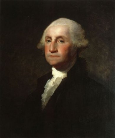 George Washington - Gilbert Stuart Oil Painting