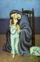 Motherhood - Pablo Picasso Oil Painting