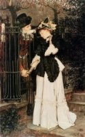 The Farewell - James Tissot oil painting