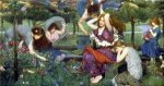 Flora and the Zephyrs - Oil Painting Reproduction On Canvas