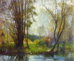 Tender Days - Robert Vonnoh Oil Painting