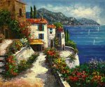 Harmony Cove - Oil Painting Reproduction On Canvas