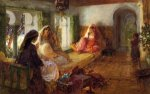 The Harem - Oil Painting Reproduction On Canvas
