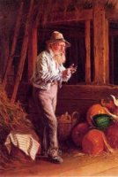 Harvest Time - Thomas Waterman Wood Oil Painting