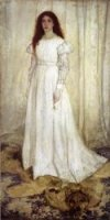 Symphony in White, No. 1: The White Girl - Oil Painting Reproduction On Canvas