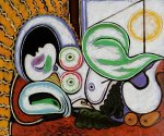 Nu Couche II - Pablo Picasso Oil Painting