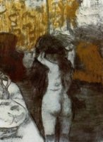 After the Bath 10 - Edgar Degas Oil Painting
