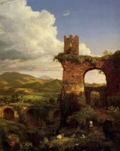 Arch of Nero - Thomas Cole Oil Painting