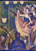 Study for 'Chahut' II - Georges Seurat Oil Painting