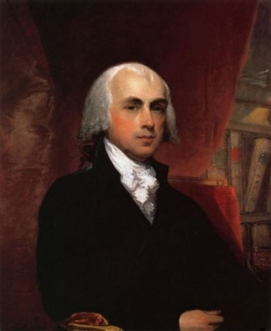 James Madison - Gilbert Stuart Oil Painting