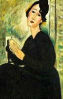 Portrait of Madame Hayden, 1918 Gallery Wrap - Oil Painting Reproduction On Canvas