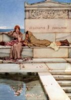 Xanthe and Phaon - Sir Lawrence Alma-Tadema oil painting