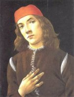 Portrait of a Young Man - Sandro Botticelli Oil Painting