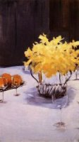 Still Life with Daffodils - John Singer Sargent Oil Painting