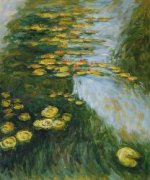 Water Lilies II - Claude Monet Oil Painting