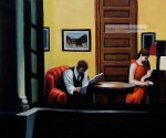 Room in New York II by Edward Hopper.