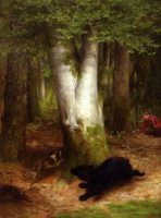 Round and Round they Went - William Holbrook Beard Oil Painting