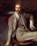 Portrait of the Artist Lawrence Alexander (Peter) Brown - Giovanni Boldini Oil Painting