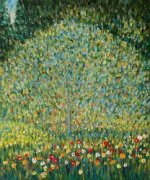 Apple Tree I -Gustav Klimt Oil Painting