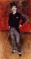Portrait of the Comte de Rasty - Giovanni Boldini Oil Painting