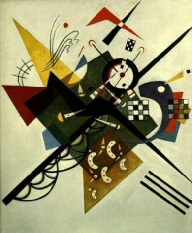 On White 2, 1923 - Oil Painting Reproduction On Canvas