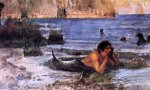 The Merman (sketch) - Oil Painting Reproduction On Canvas