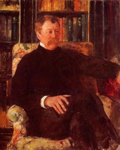 Portrait of Alexander J. Cassatt II - Mary Cassatt Oil Painting