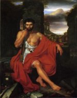 Caius Marius amid the Ruins of Carthage -John Vanderlyn Oil Painting